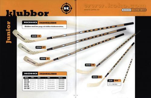 Koho hockeyutrustning 2001 Blad08