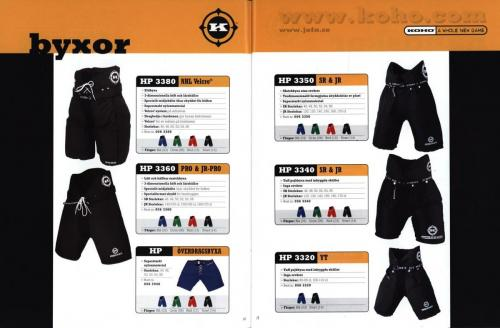 Koho hockeyutrustning 2001 Blad10