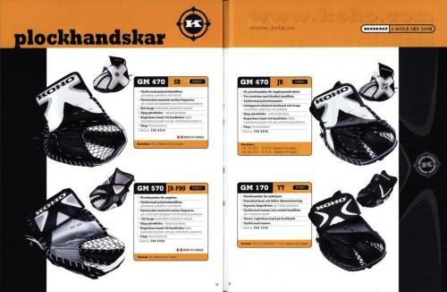 Koho hockeyutrustning 2001 Blad21