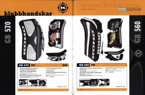 Koho hockeyutrustning 2001 Blad22