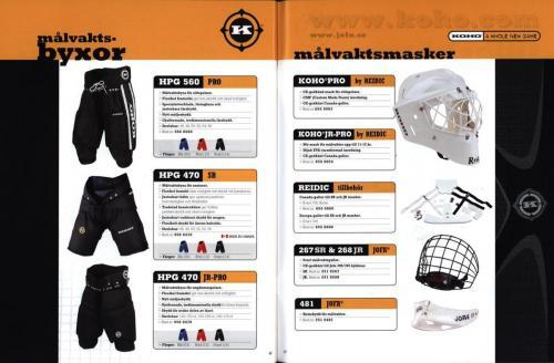 Koho hockeyutrustning 2001 Blad25