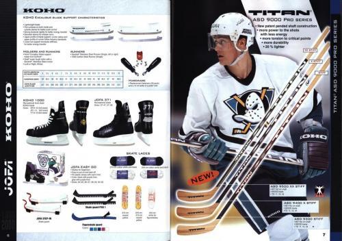 Koho jofa titan heaton canadien Hockey 1999 Blad04