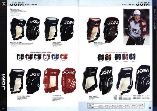 Koho jofa titan heaton canadien Hockey 1999 Blad13