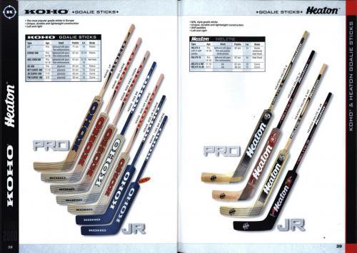 Koho jofa titan heaton canadien Hockey 1999 Blad20