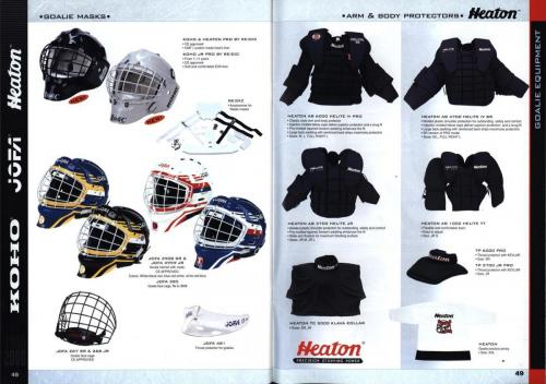Koho jofa titan heaton canadien Hockey 1999 Blad25