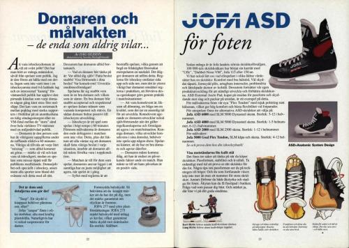 Powerplay Jofa hockeymagasin Nr1 1993 Blad12