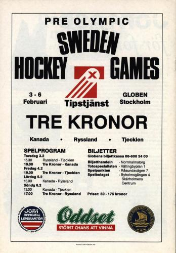 Powerplay Jofa hockeymagasin Nr1 1993 Blad13