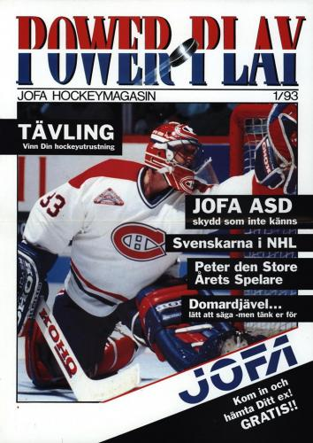Powerplay Jofa hockeymagasin Nr1 1993 Blad14