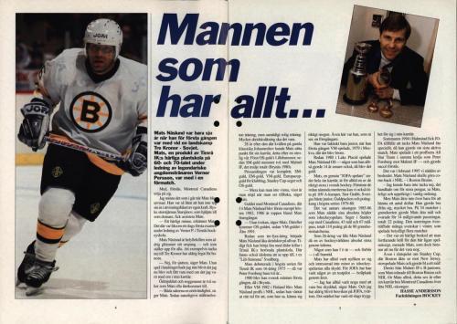 Powerplay Jofa hockeymagasin Nr2 1995 Blad03