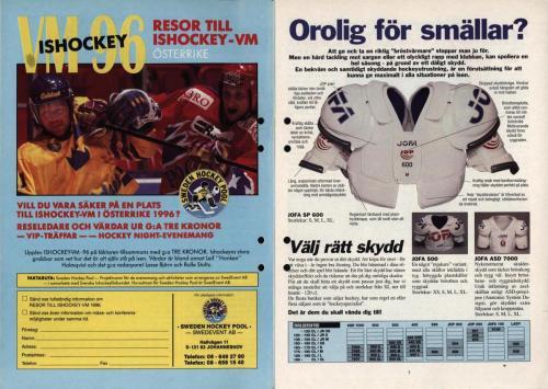 Powerplay Jofa hockeymagasin Nr2 1995 Blad04