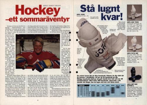 Powerplay Jofa hockeymagasin Nr2 1995 Blad06