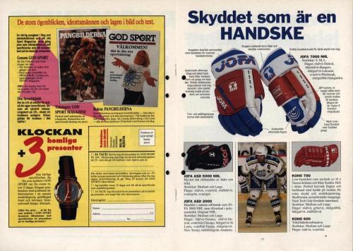 Powerplay Jofa hockeymagasin Nr2 1995 Blad09