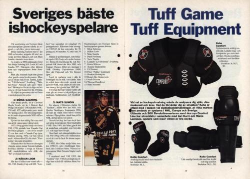 Powerplay Jofa hockeymagasin Nr2 1995 Blad10