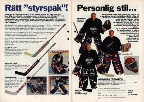 Powerplay Jofa hockeymagasin Nr2 1995 Blad13
