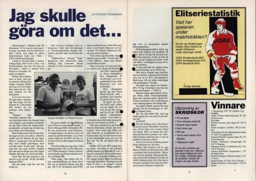 Powerplay Jofa hockeymagasin Nr2 1995 Blad14