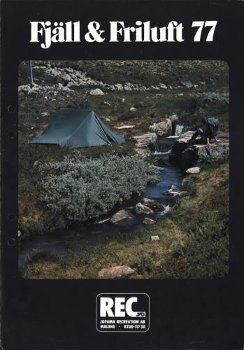 REC Fjall och Friluft 1977 Blad01