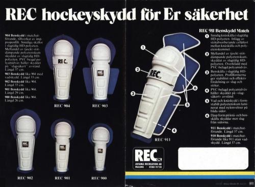 REC Hockeyskydd 1978-79 Blad 03
