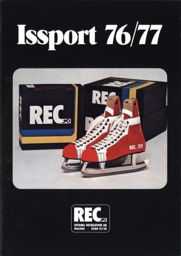 REC Issport 1976-77 Blad01