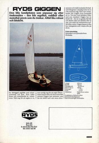 Ryds Motor rodd segel 05
