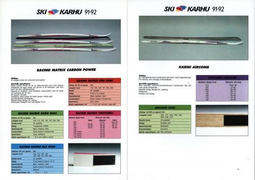 Ski Karhu 91-92 Blad04