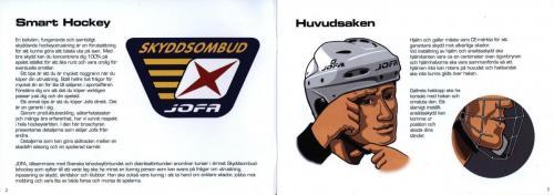 Smart hockey info om skydd och teknik JOFA 02