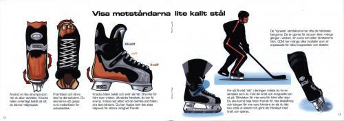 Smart hockey info om skydd och teknik JOFA 07