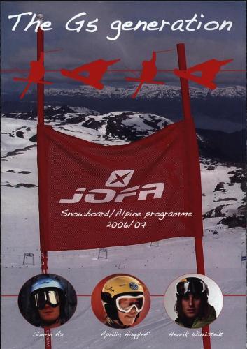 The G5 generation snowboard alpine programme 2006-07 Blad01