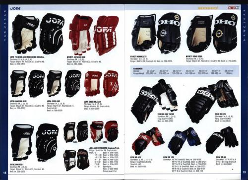 The hockey company JOFA 1999 Blad10
