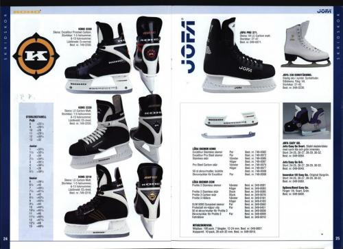 The hockey company JOFA 1999 Blad13