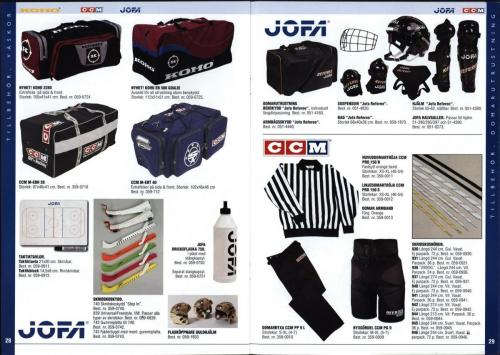 The hockey company JOFA 1999 Blad15
