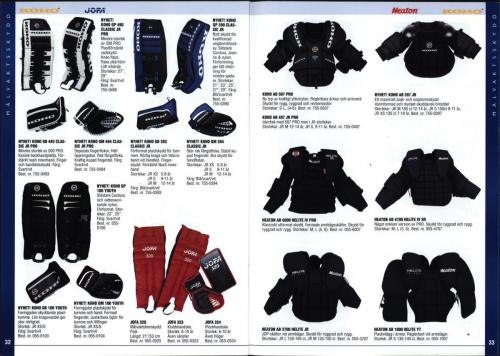 The hockey company JOFA 1999 Blad17