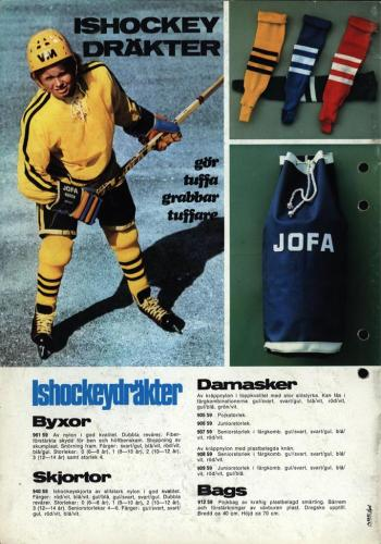 jofa sportkatalog 1972-73 Issport Blad17