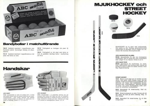 jofa sportkatalog 1973-74 Issport Blad 14