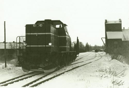 1970-talets slut Lokstallet till höger