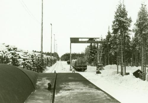 1970-talets slut Timmerterminalen i Malungsfors