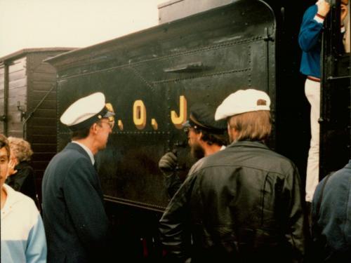 1984 Midsommar Bengt-Erik Björklund. Resa som Grängesbergsförening