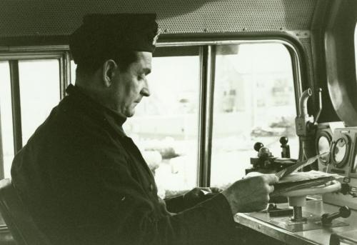 Lokförare Arvid Wallin Borlänge