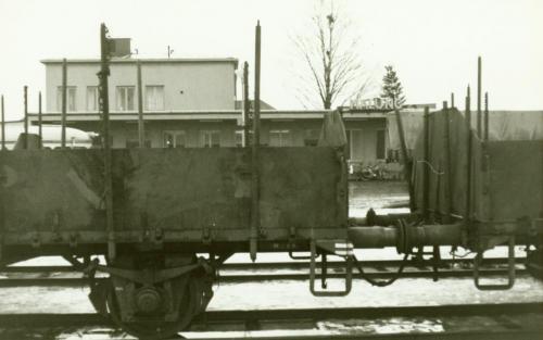 Nyår 1971-72 vagnar vid stationen