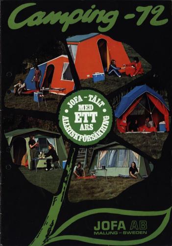 JOFA Oskar Camping Camping -72 Jofa 0083