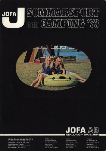 JOFA Oskar Camping Jofa sommarsport och camping 73 0092