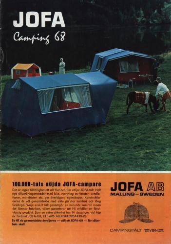 JOFA Oskar Camping 1968 Jofa camping 0338