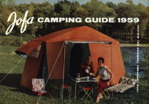 JOFA Oskar Camping Jofa 1959 campingguiden 0347