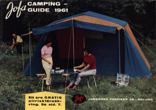 JOFA Oskar Camping Jofa 1961 campingguiden 0350