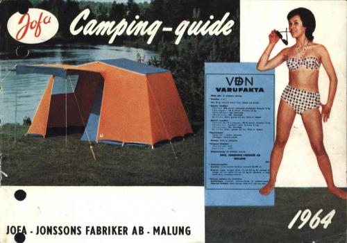 JOFA Oskar Camping Jofa campingguide 1964 0429