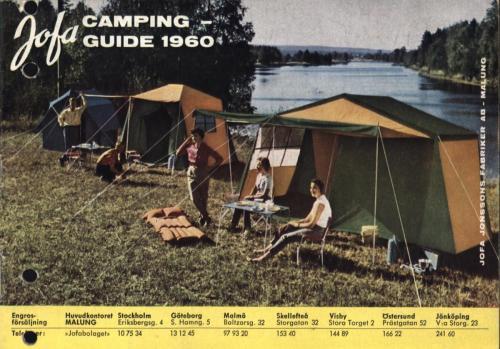 JOFA Oskar Camping Jofa campingguide 1960 0456