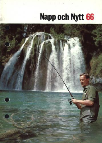 JOFA Oskar Fiske ABU Napp och Nytt 1966