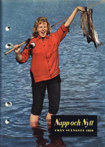 JOFA Oskar Fiske ABU Napp och Nytt 1959