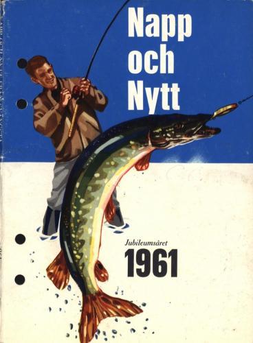 JOFA Oskar Fiske ABU Napp och Nytt 1961