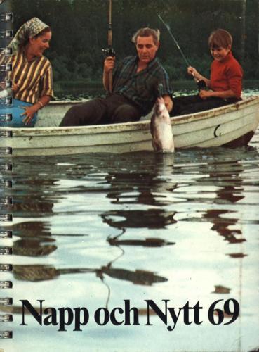 JOFA Oskar Fiske ABU Napp och Nytt 1969