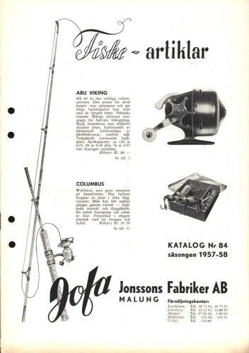 JOFA Oskar Fiske jofa 0682